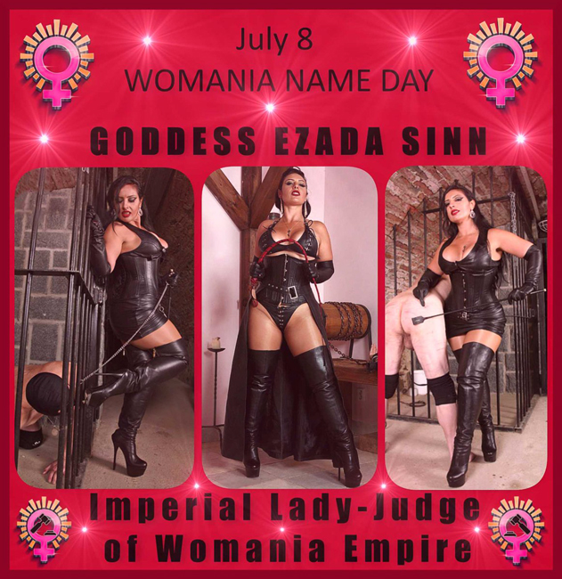 Womania Name Day - Mistress Ezada Sinn