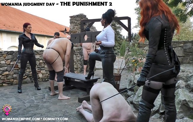 WOMANIA JUDGMENT DAY - THE PUNISHMENT 2.