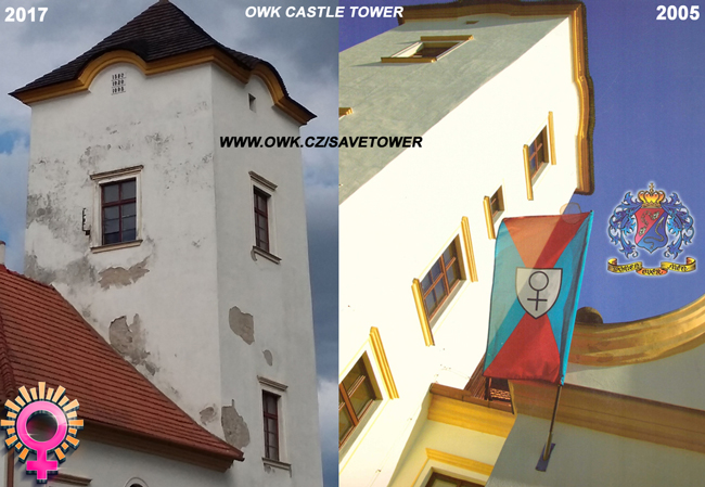 Fundraising for the OWK Castle Tower repair