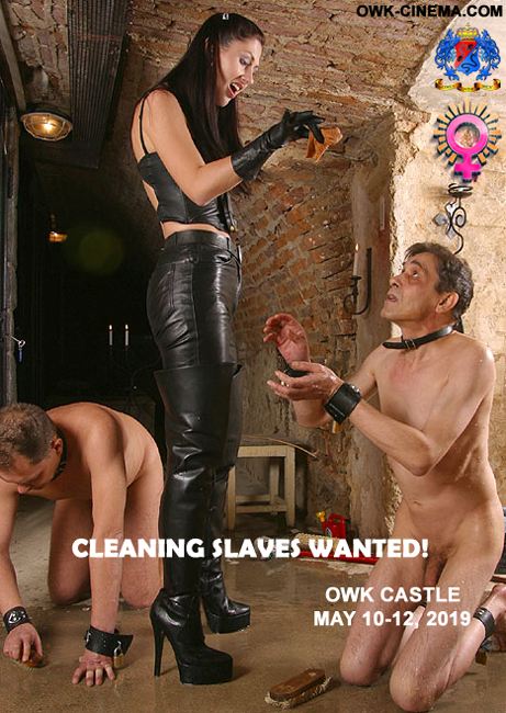 Real slaves wanted!
