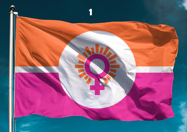 State flag of Womania Empire