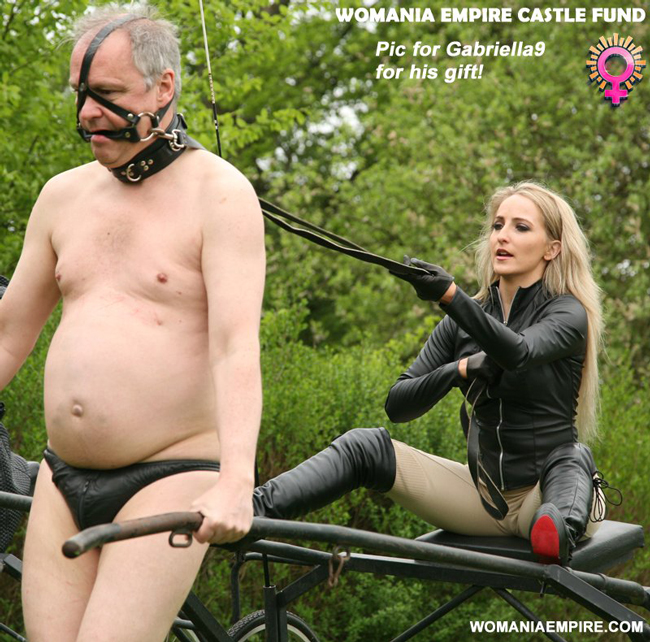 Another donation for Womania Empire Castle Fund