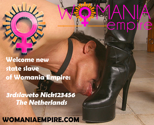 New state slave of Womania Empire