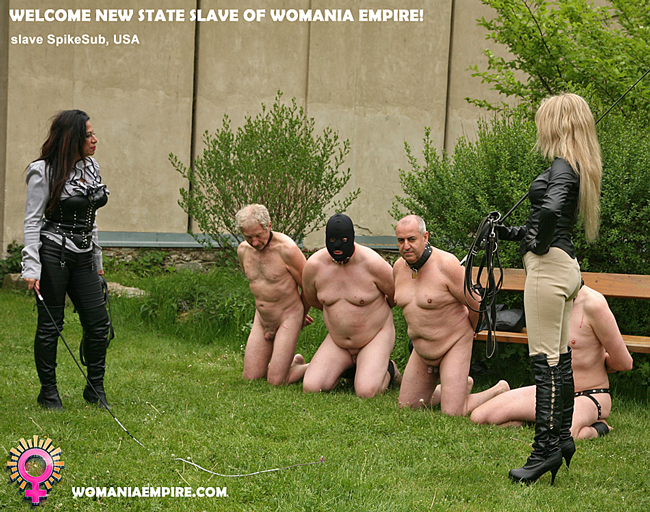 New state slave of Womania Empire!