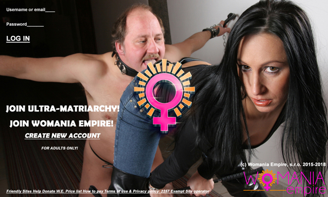 Unexpected problem with NEW website of Womania Empire
