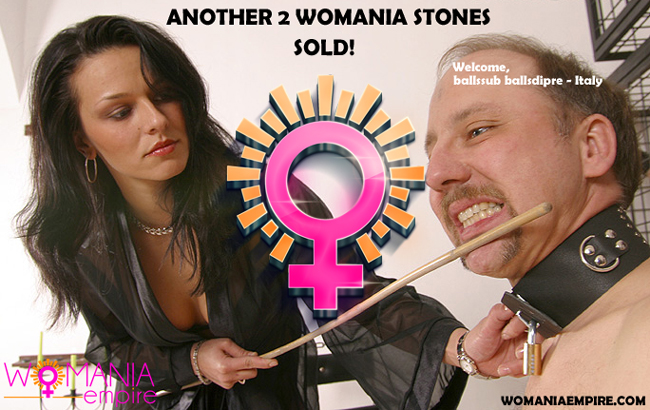 Another 2 Womania Stones was sold!