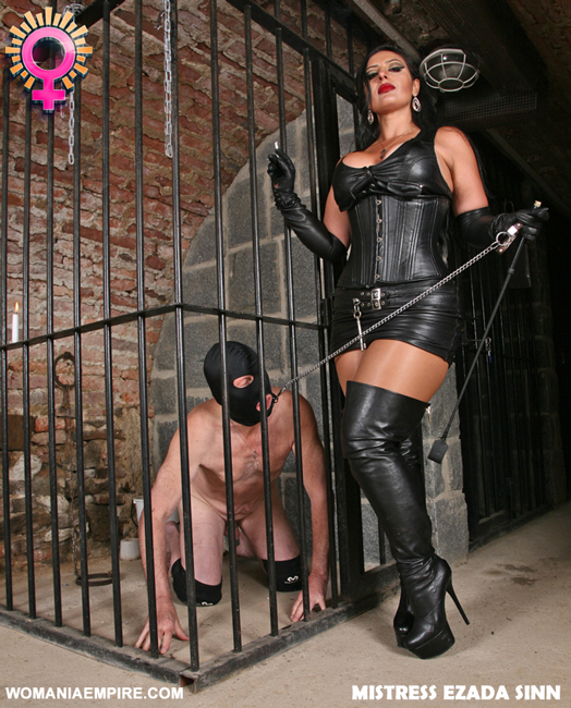 WOMANIA JUDGMENT DAY * IMPRISONMENT * SPANKING DAY