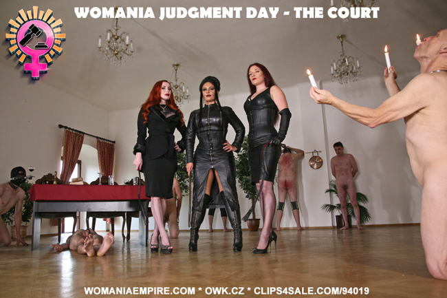WOMANIA JUDGMENT DAY - THE COURT