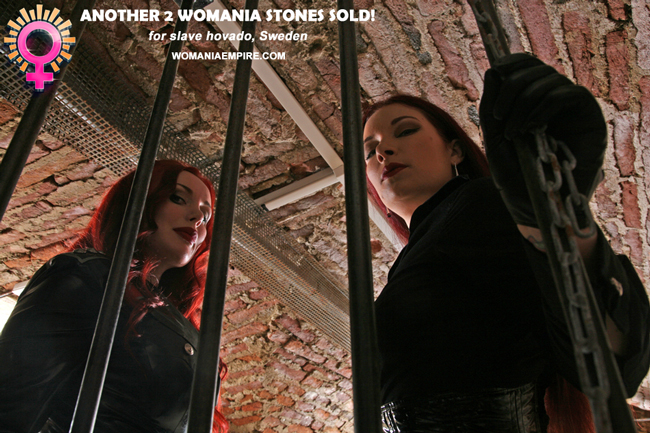 Another two Womania Stones was sold!