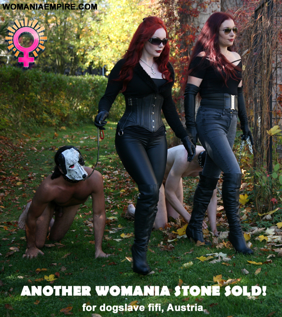 Another Womania Stone was sold!