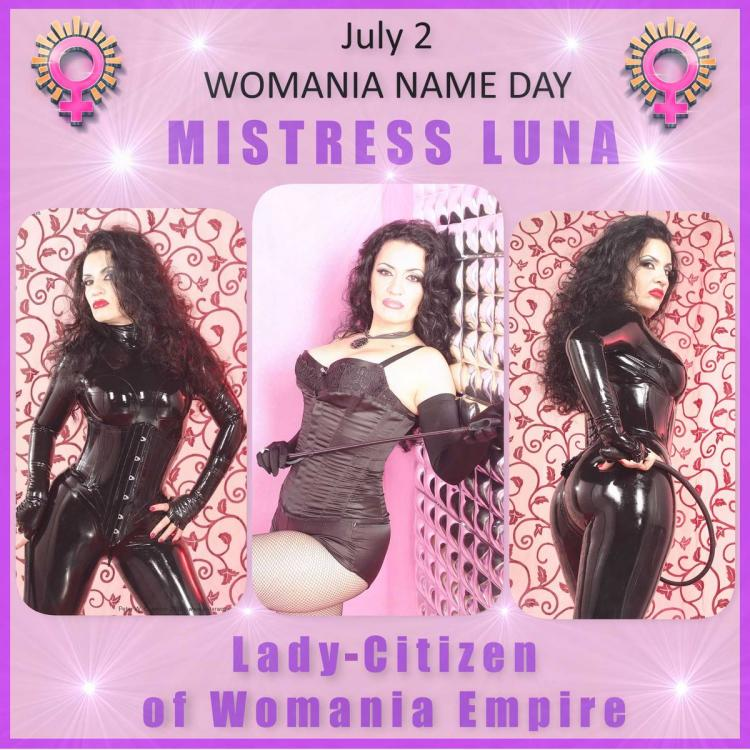 Womania Name Day - Mistress Luna
