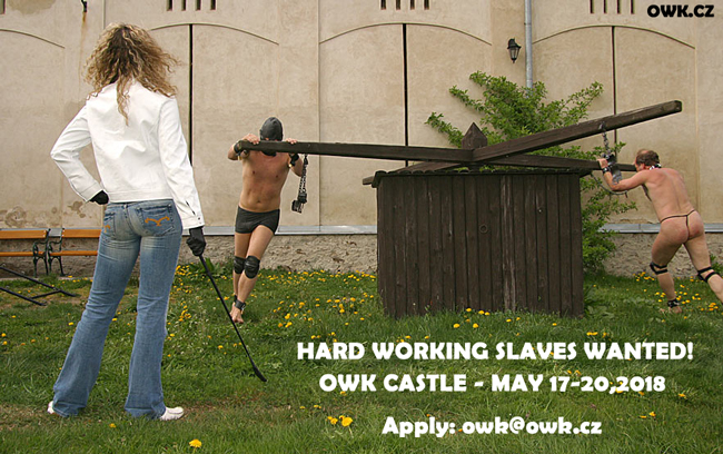 Working slaves wanted!