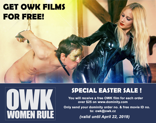GET OWK MOVIES FOR FREE - SPECIAL EASTER SALE!