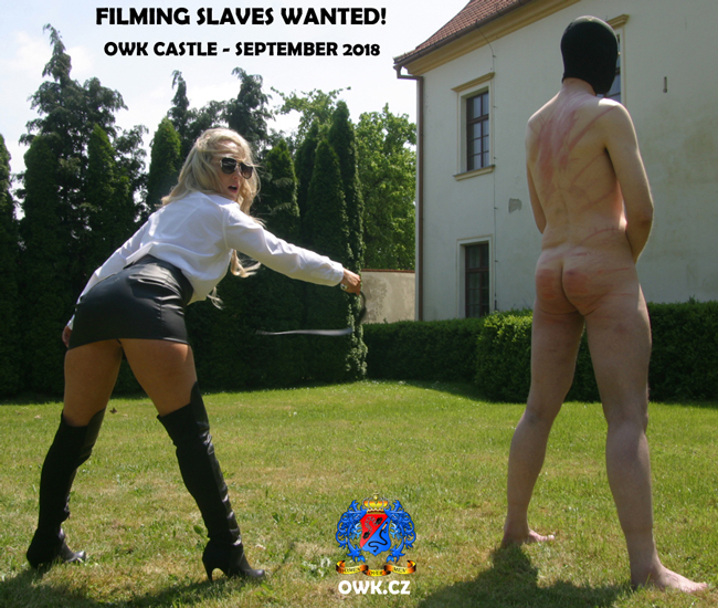 Be useful - Filming slaves wanted!