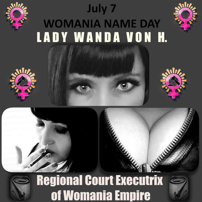 Womania Name Day - Lady Wanda von H.