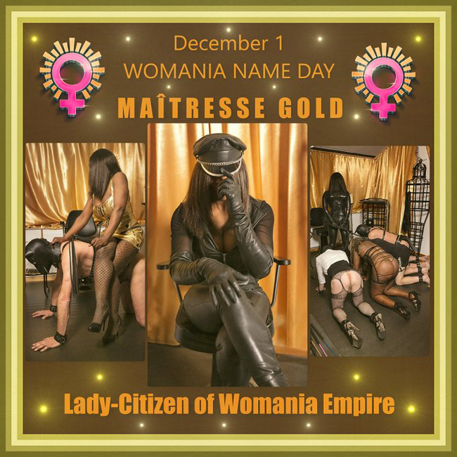 Womania Name Day - MAITRESSE GOLD !