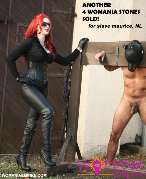 Another 4 Womania Stones was sold!