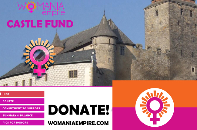 New Commitment to support Womania Empire Castle Fund!