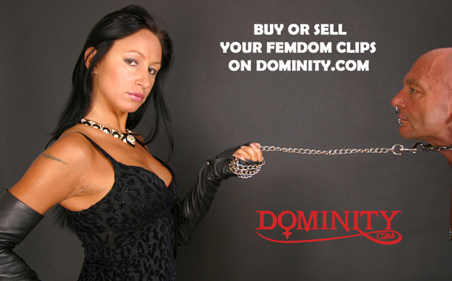 Buy your FemDom clips on dominity.com !